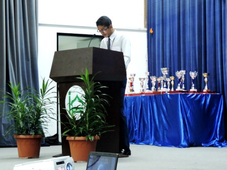 CHSE 4th QURAN COMPETITION 2013 held at CHSE Hall